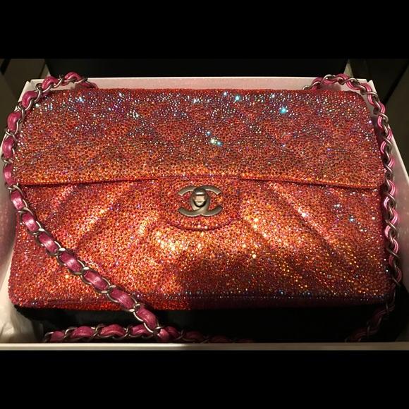 c3e8ca9b6e92 CHANEL Handbags - Authentic Chanel Crystal Bag